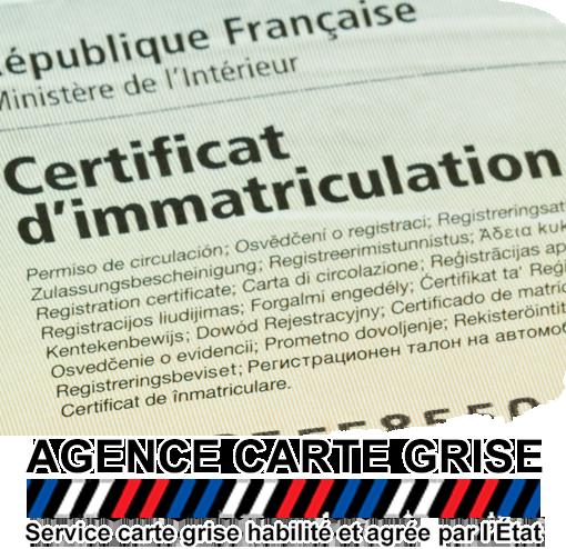 Créer Certificat d'immatriculation