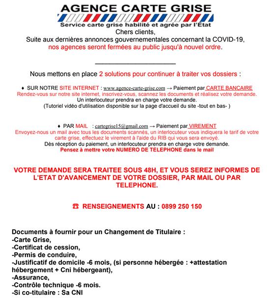 Agence Carte Grise Aurillac Rodez